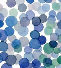 Blue Bubbles Artwork