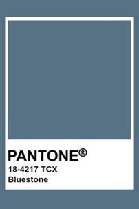 Pantone colour Bluestone