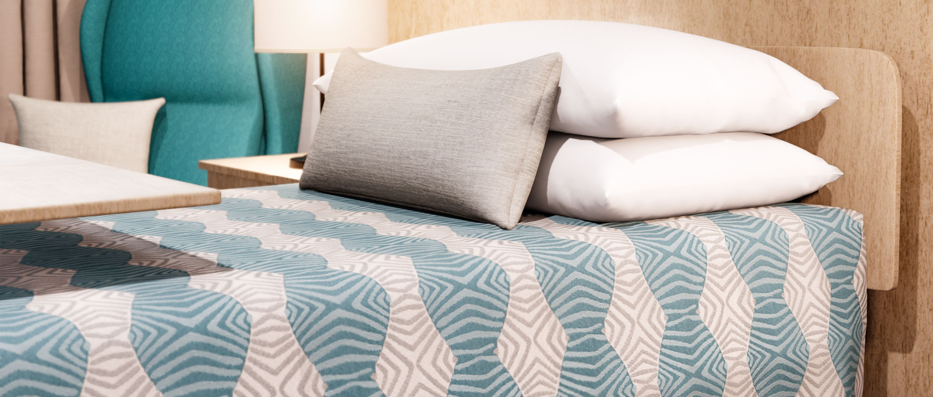 Practical Health Bed Cover by HotelHome
