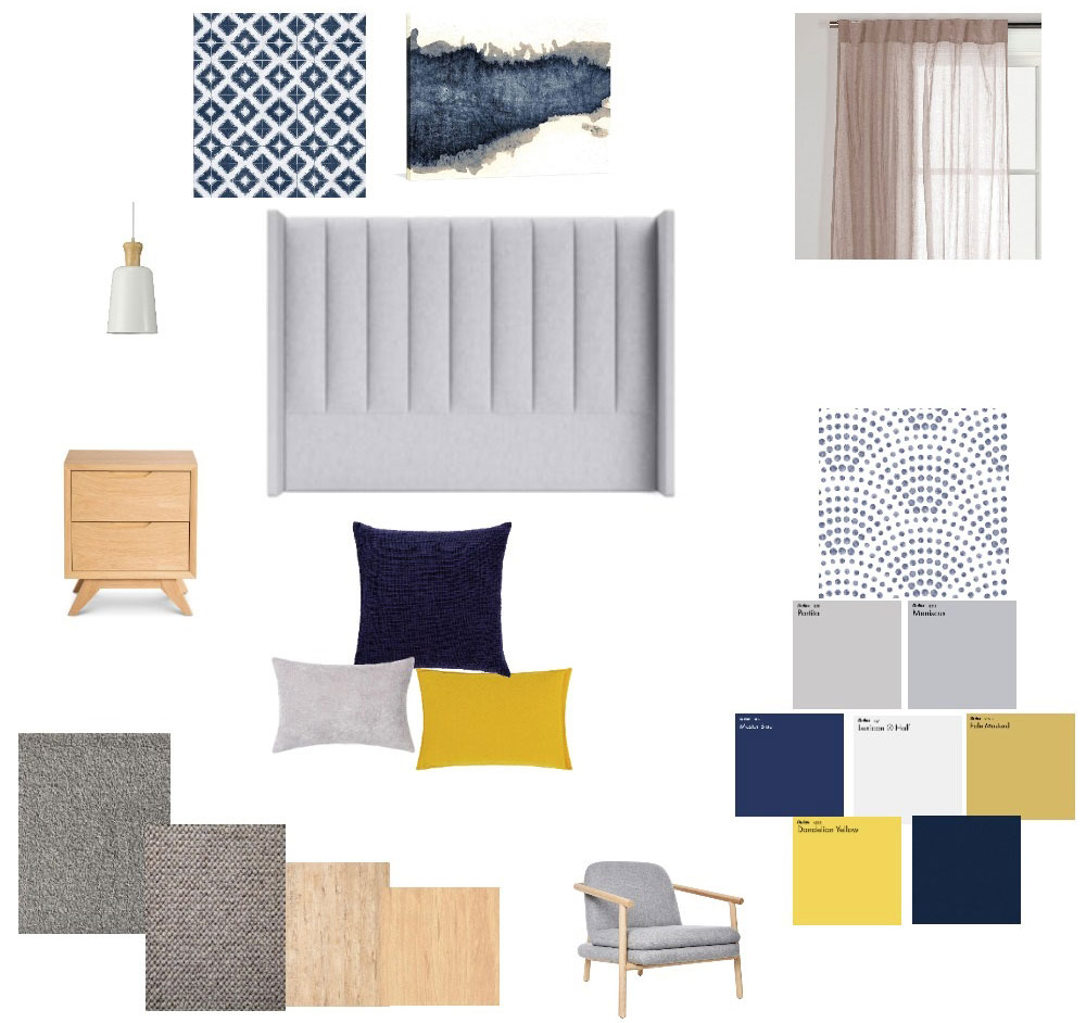 HotelHome Easy Rooms Refresh Mood Board