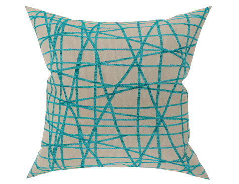 Large Decorative Cushion Fiddlesticks Coast (Face)