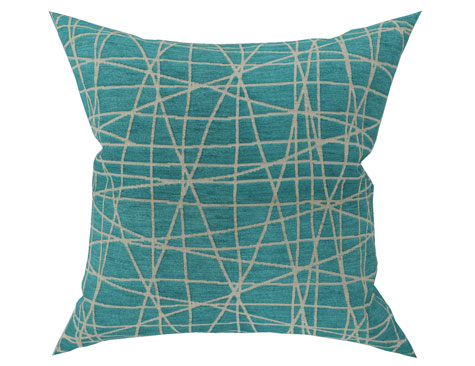 Large Decorative Cushion Fiddlesticks Coast (Reverse)
