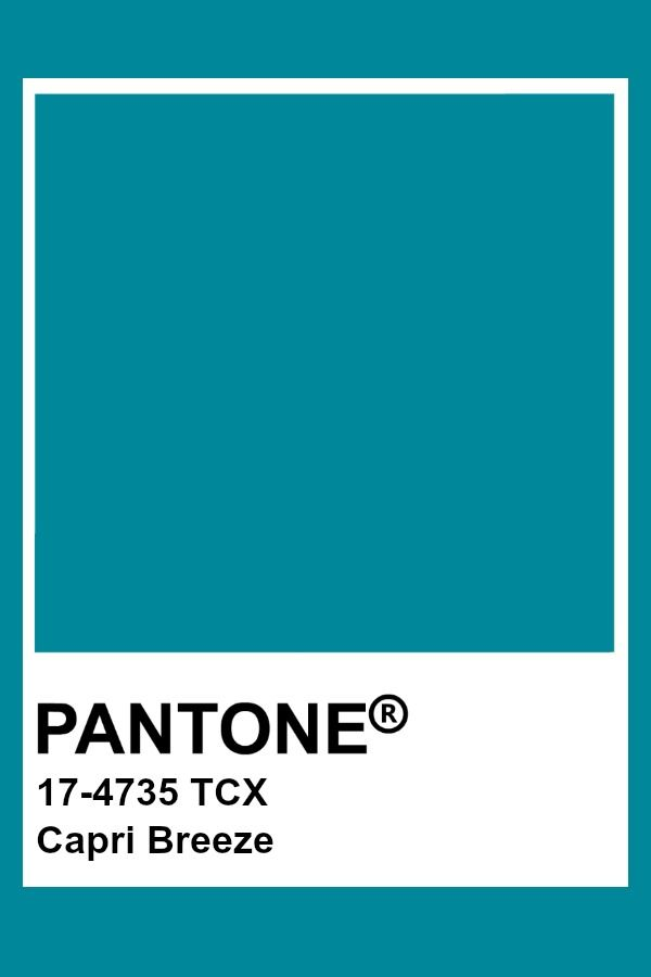 Pantone - Capri Breeze