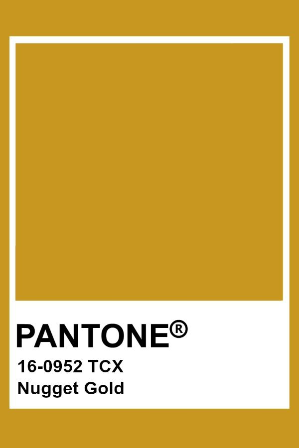 Pantone - Nugget Gold