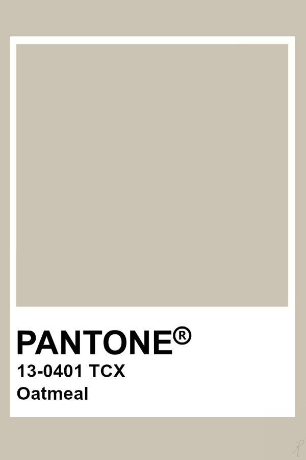 Pantone - Oatmeal