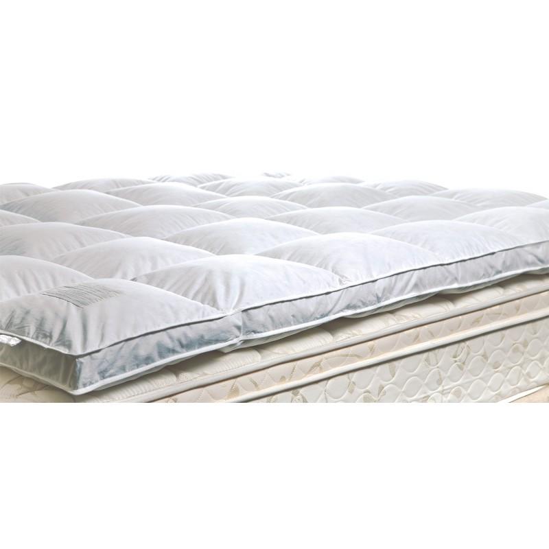 the cloud u0027gen iiu0027 feather and down mattress topper