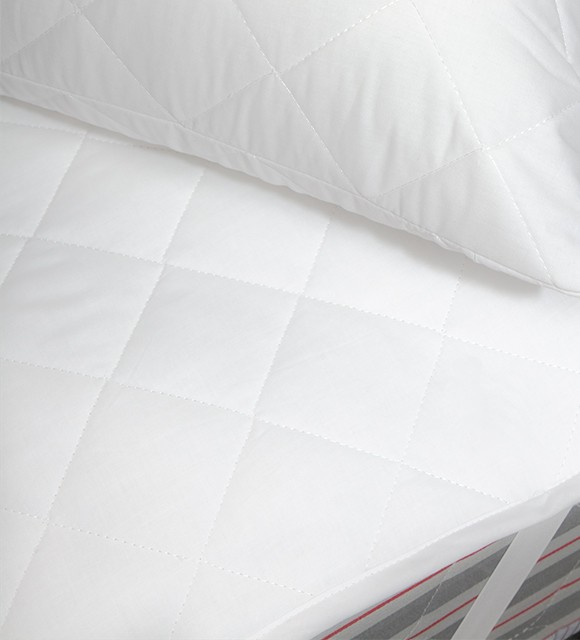 COTTON FLAT MATTRESS PROTECTOR