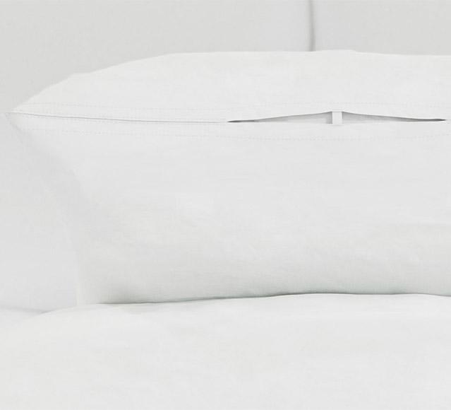 "Standard Size Waterproof ""Hot Wash"" Pillow Protector"