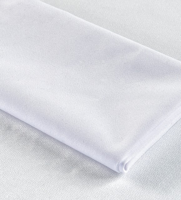 SPUN POLY WHITE NAPKINS