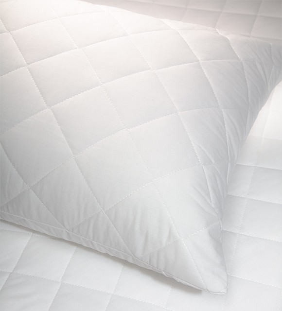 COTTON PILLOW PROTECTOR