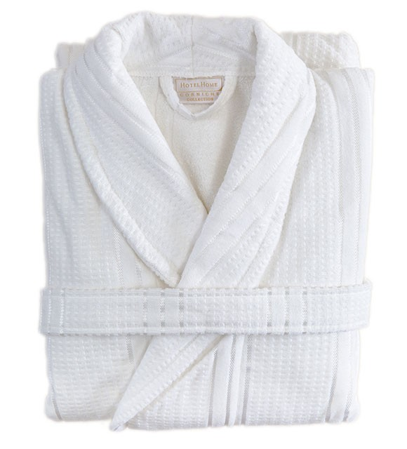 Bathrobe - Paris - White