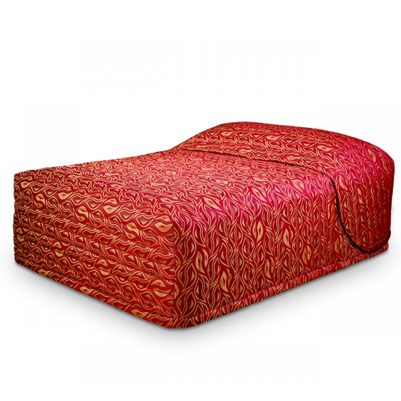 Contempo Standard Bedspread with Voodoo Garnet fabric