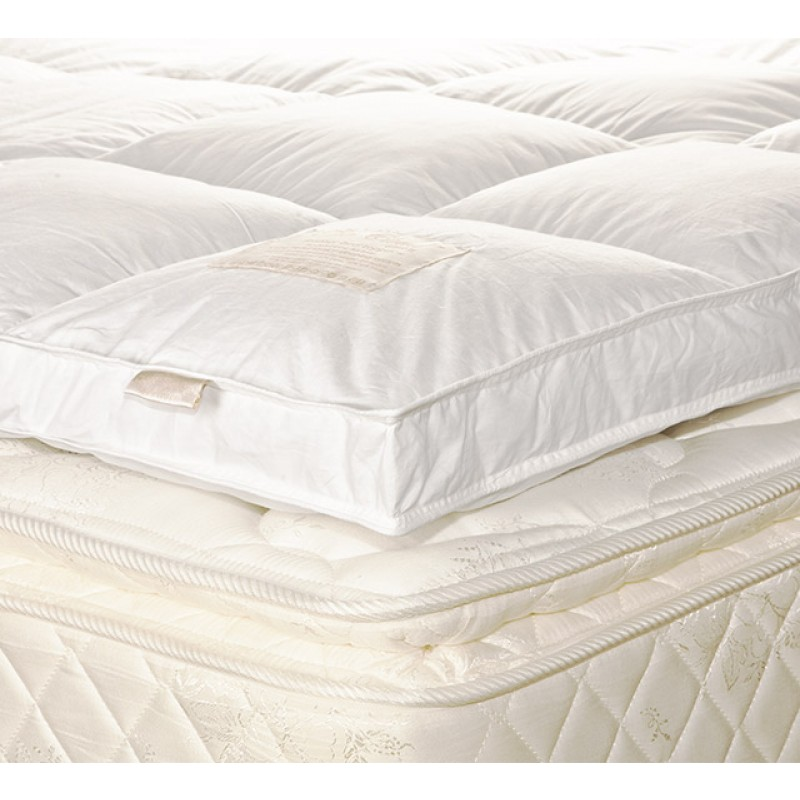 The Cloud GEN II feather down Bed Topper