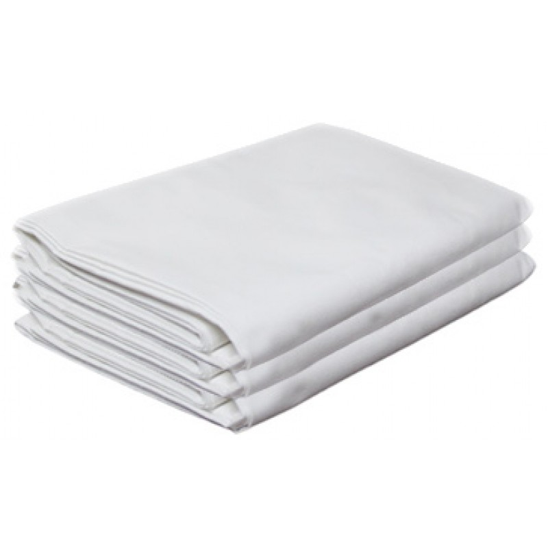 Soho White Flat Sheets