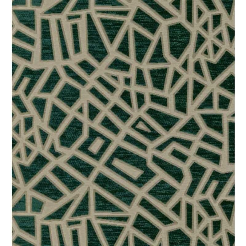 Mosaic Teal Taupe