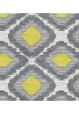 Ikat Citrus-Grey