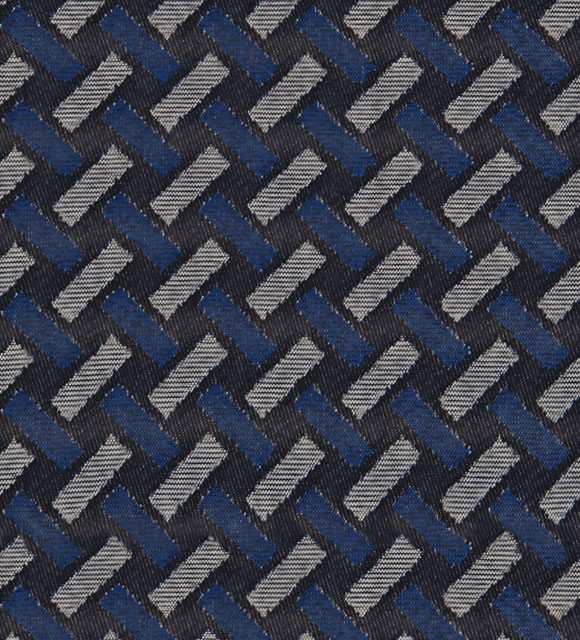 HotelHome Fabric - Design: Basque, Colour: Indigo