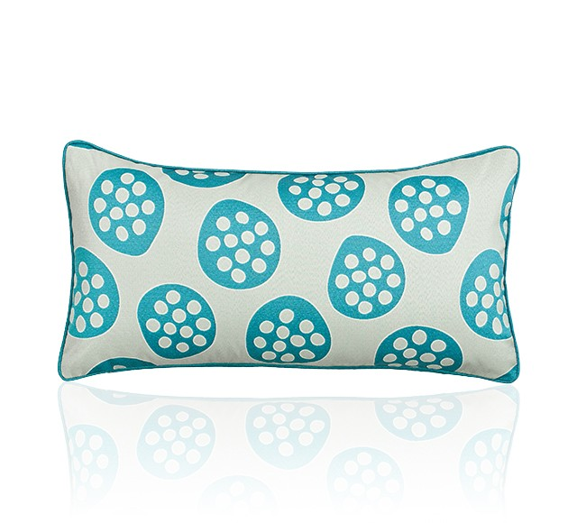 Belair Cushion (Face Side - Pod Teal)
