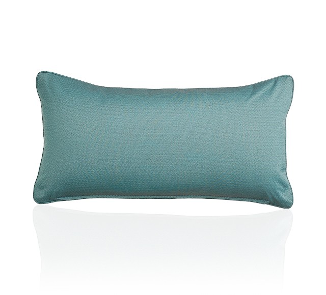 Belair Cushion (Reverse Side - Lotus Teal)