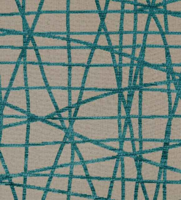 HotelHome Fabric - Design: Fiddlesticks, Colour: Coast