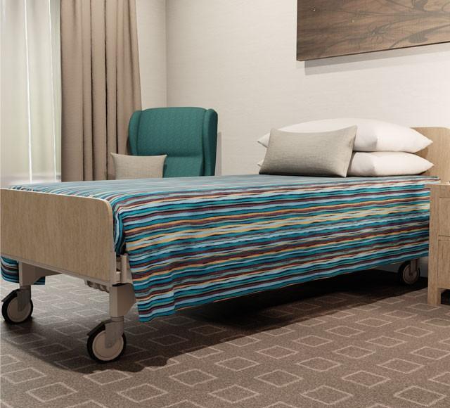 Practical Health Bed Cover | Flat Top | Malibu Opal