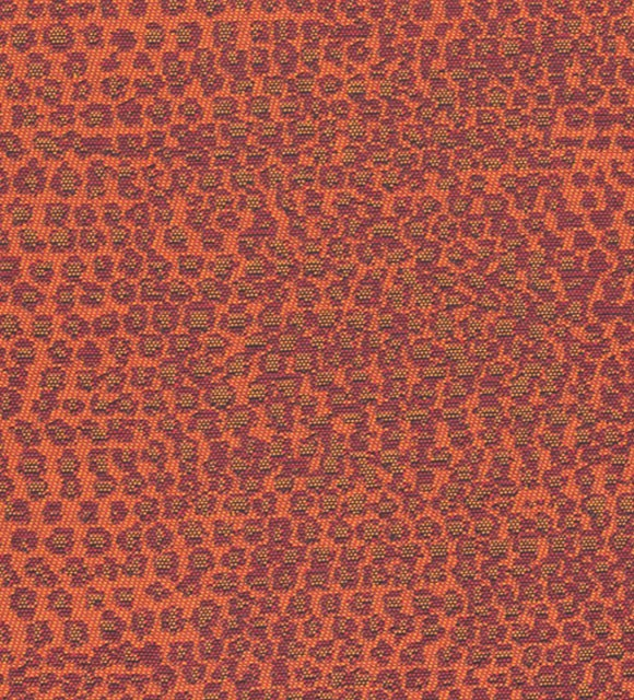 HotelHome Fabric - Design: Rattler Reverse, Colour: Tango