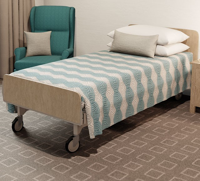Practical Health Bed Cover | Flat Top | Tribal Sand Teal
