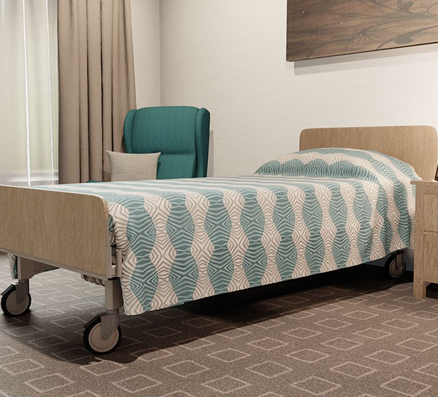 Practical Health Bed Cover | Long Top | Tribal Sand Teal