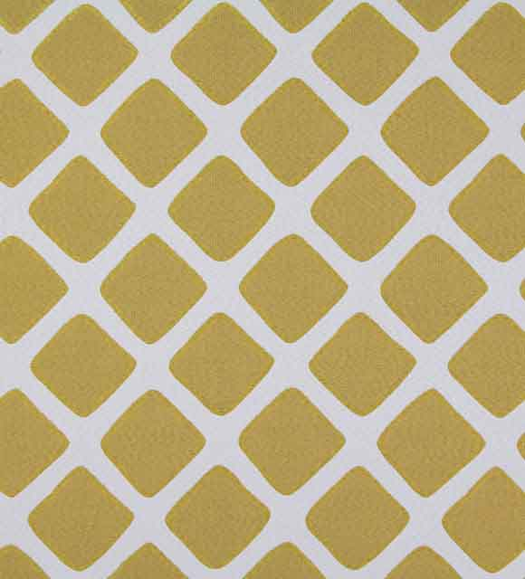 HotelHome Capri Fabric - Gem Mustard