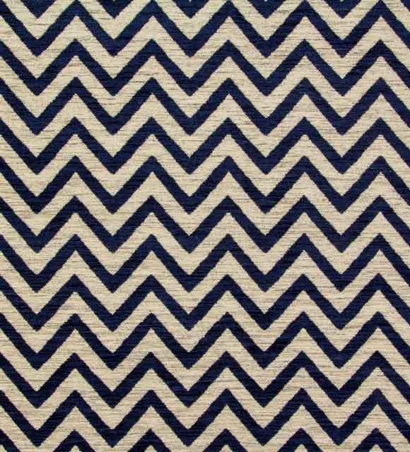 CHEVRON LARGE NAVY