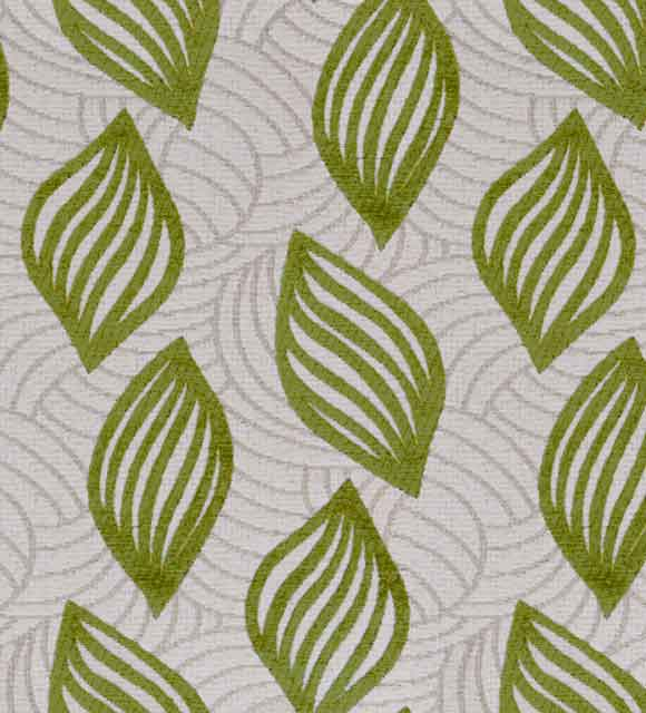 HotelHome Fabric - Design: Concha, Colour: Palm