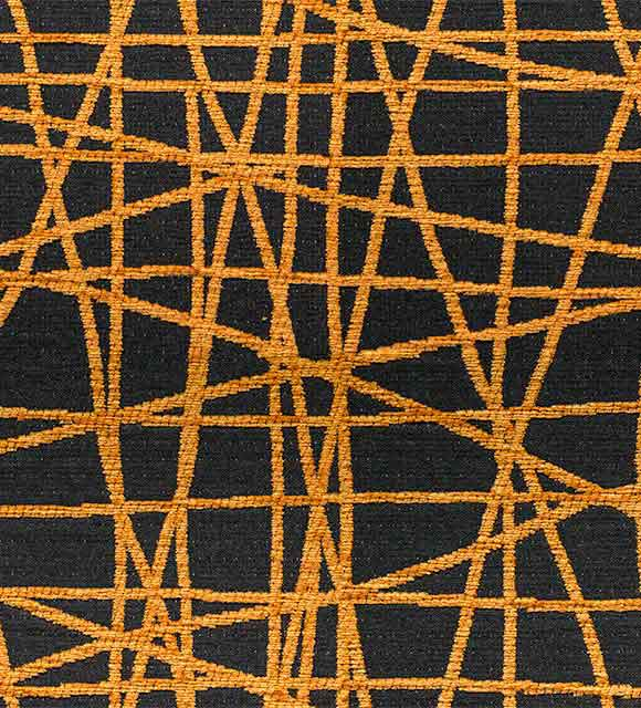 HotelHome Fabric - Fiddlesticks Saffron