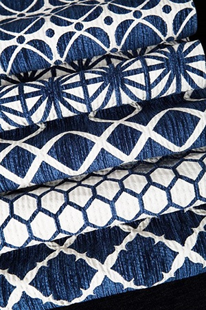 Indigo Fabric Range by HotelHome