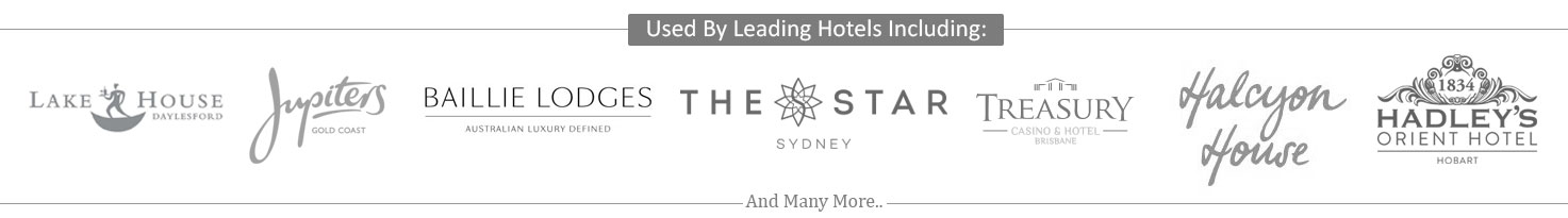Treasury Casino, Halcyon House, The Star Casino, Jupiters Gold Coast, The Old Woolstore, Hilton, Baillie Lodges, Lake House Daylsford