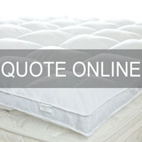 The Cloud 'Platinum' Feather and Down Mattress Topper