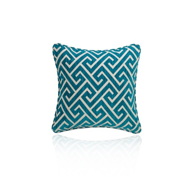 Apollo Turquoise Large Decorative Cushion by HotelHome