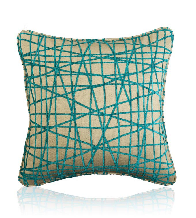 Fiddlesticks Electra - Large Decorative Cushion