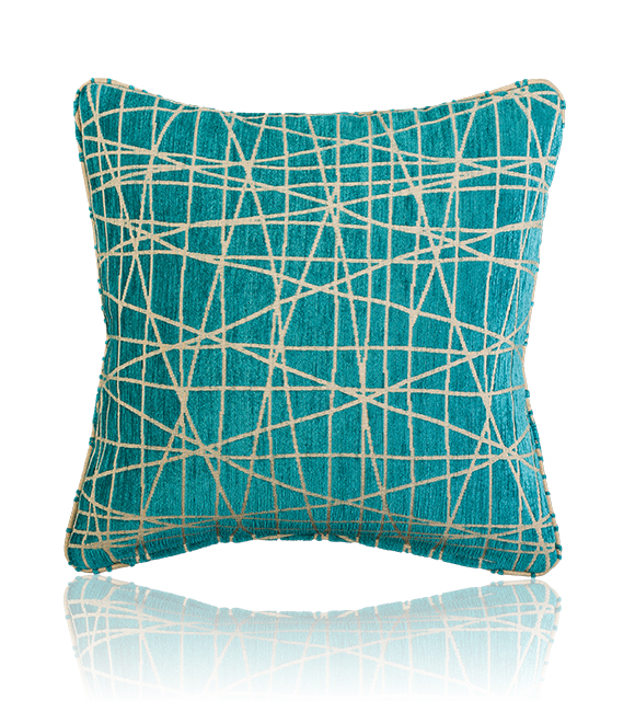 Fiddlesticks Electra (Reverse) - Large Decorative Cushion