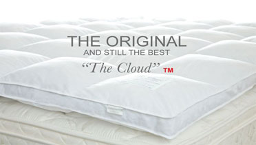 the cloud feather mattress topper